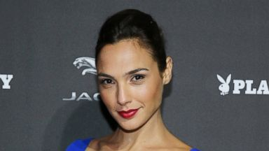 PHOTO: Actress Gal Gadot attends the Jaguar and Playboy Magazine exclusive VIP reception to celebrate Jaguars high-performance models during Pebble Beach weekend, Aug. 16, 2013 in Monterey, Calif.
