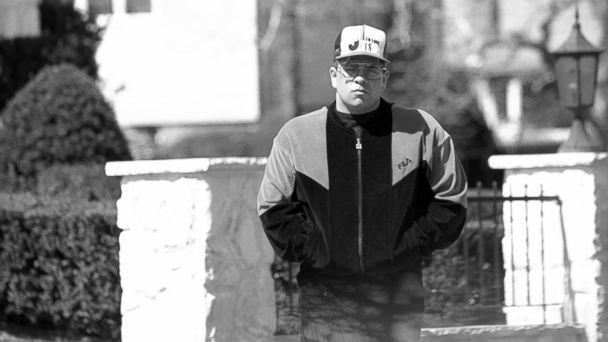 John Gotti Jr. outside his house in Massapequa, New York.
