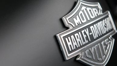 PHOTO: The Harley-Davidson motorcycles logo is displayed on a motorcycle for sale in Marina del Rey, Calif., July 24, 2013.