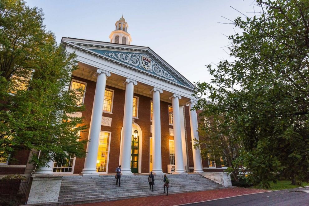 The campus of Harvard Business School in Boston, Mass.