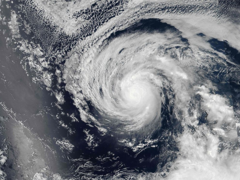 Photos Show Side By Side Hurricanes Heading Toward
