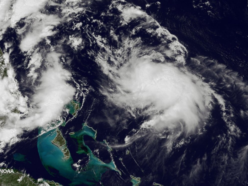 PHOTO: In this handout provided by the National Oceanic and Atmospheric Administration (NOAA) from the GOES-East satellite, a weather system travels up the Atlantic coast of the United States pictured on Aug. 4, 2014.
