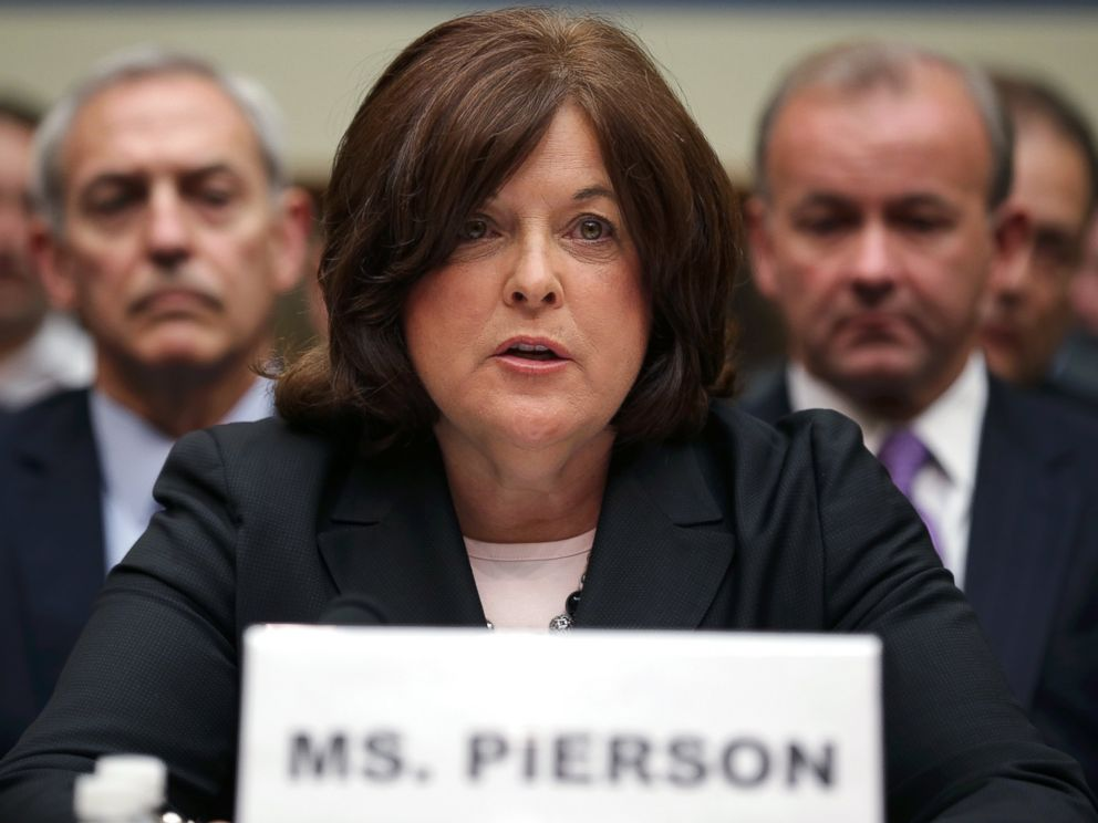PHOTO: Secret Service Director Julia Pierson testifies to the House Oversight and Government Reform Committee on the White House perimeter breach at the Rayburn House Office Building, Sept. 30, 2014, in Washington.