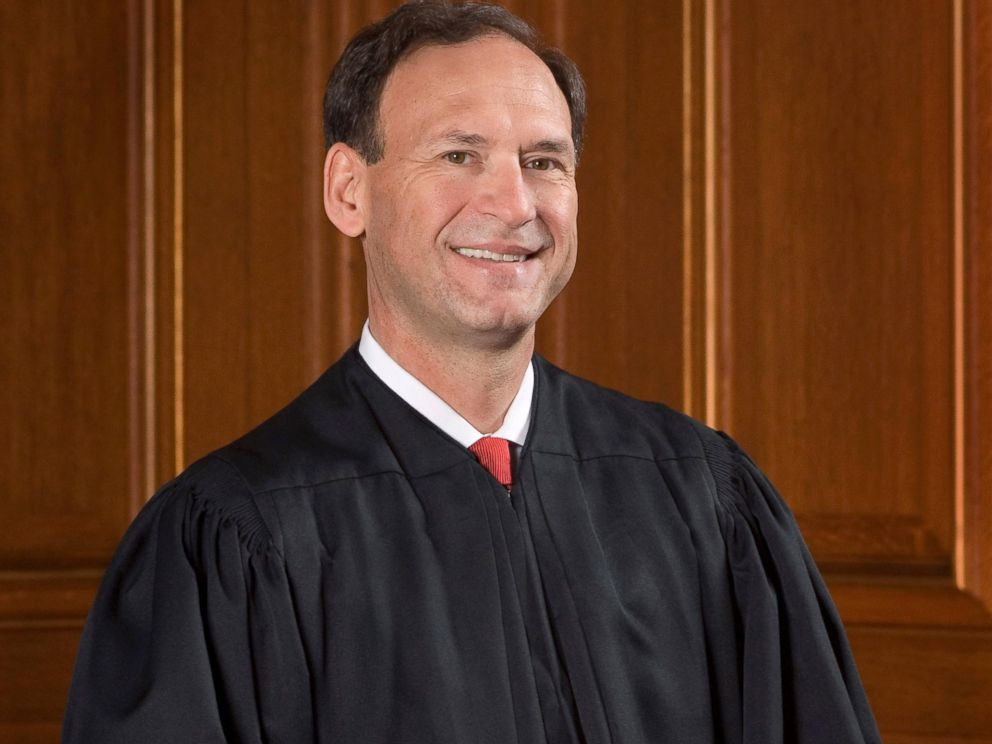 PHOTO: Supreme Court Justice Samuel Anthony Alito Jr.