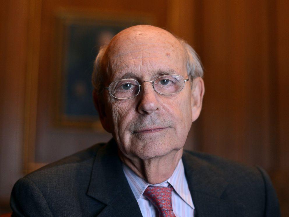 PHOTO: Supreme Court Justice Stephen Breyer.