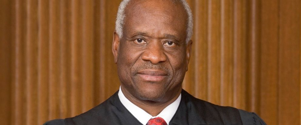 PHOTO: Supreme Court Justice Clarence Thomas.