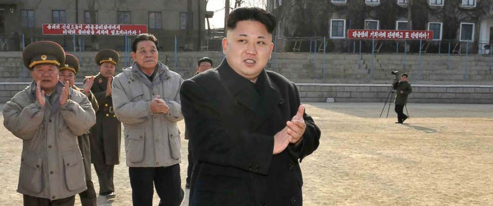 PHOTO: Kim Jong-Un is pictured in this undated image released from North Koreas official Korean Central News Agency on Jan. 12, 2014.