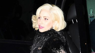PHOTO: Lady Gaga is seen arriving at SNL after party on Nov. 16, 2013 in New York City.