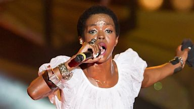 PHOTO: In this July 4, 2012 file photo Lauryn Hill performs at the Philly Fourth Of July Jam at Benjamin Franklin Parkway in Philadelphia.