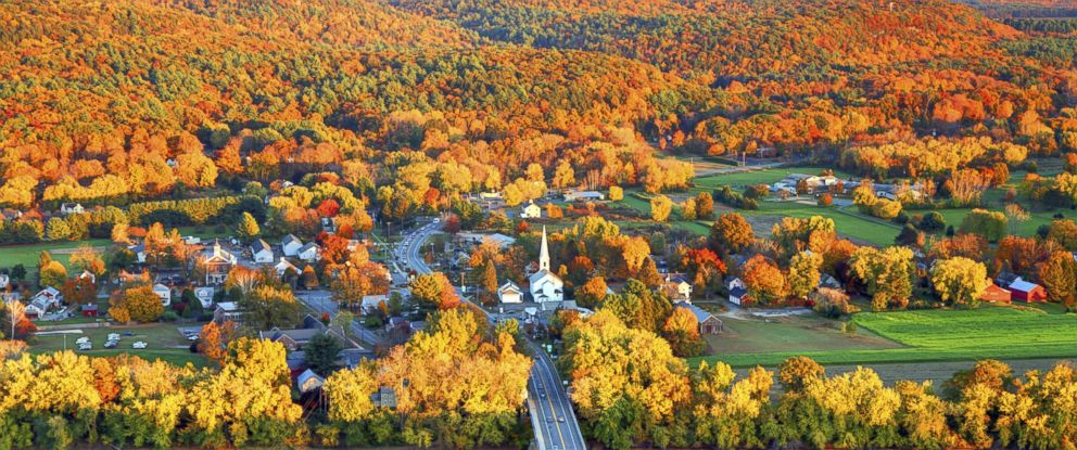 PHOTO: Fall is seen in the Pioneer Valley of Massachusetts.