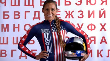PHOTO: Bobsledder Lolo Jones poses for a portrait during the USOC Media Summit ahead of the Sochi 2014 Winter Olympics on Sept. 29, 2013 in Park City, Utah.