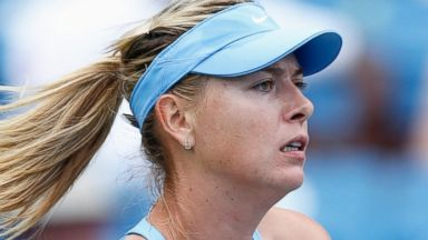 PHOTO: Maria Sharapova of Russia in action during her match against Madison Keys of the United States on day 4 of the Western & Southern Open at the Linder Family Tennis Center, Aug. 12, 2014 in Cincinnati.