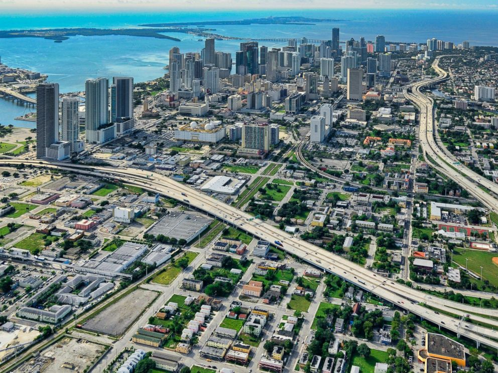 PHOTO:An aerial view of Miami is seen in this undated file photo.