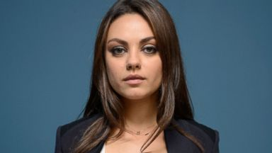 PHOTO: Actress Mila Kunis of Third Person poses at the Guess Portrait Studio during 2013 Toronto International Film Festival on Sept. 10, 2013 in Toronto.
