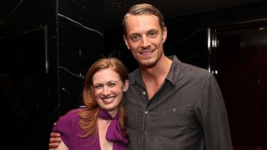 """PHOTO: Actors Mireille Enos and Joel Kinnaman attend """"The Killing"""" ATAS Screening and Panel at the Leonard H. Goldenson Theater on May 8, 2012 in North Hollywood, Calif."""