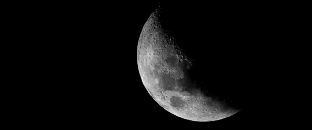 PHOTO: The moon is seen here in this undated file photo.