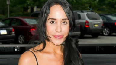 PHOTO: Nadya Octomom Suleman attends the Celebrity Pillow Fight press conference and weigh in at Fox And Hound, June 22, 2012, in King of Prussia, Pa.