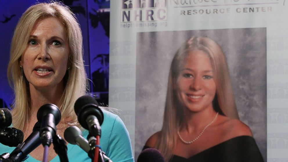 Beth Holloway participates in the launch of the Natalee Holloway Resource Center on June 8, 2010 in Washington.
