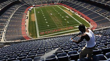 PHOTO: Mile High Stadium