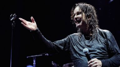 PHOTO: Ozzy Osbourne of Black Sabbath performs onstage at Barclays Center of Brooklyn, March 31, 2014 in New York.
