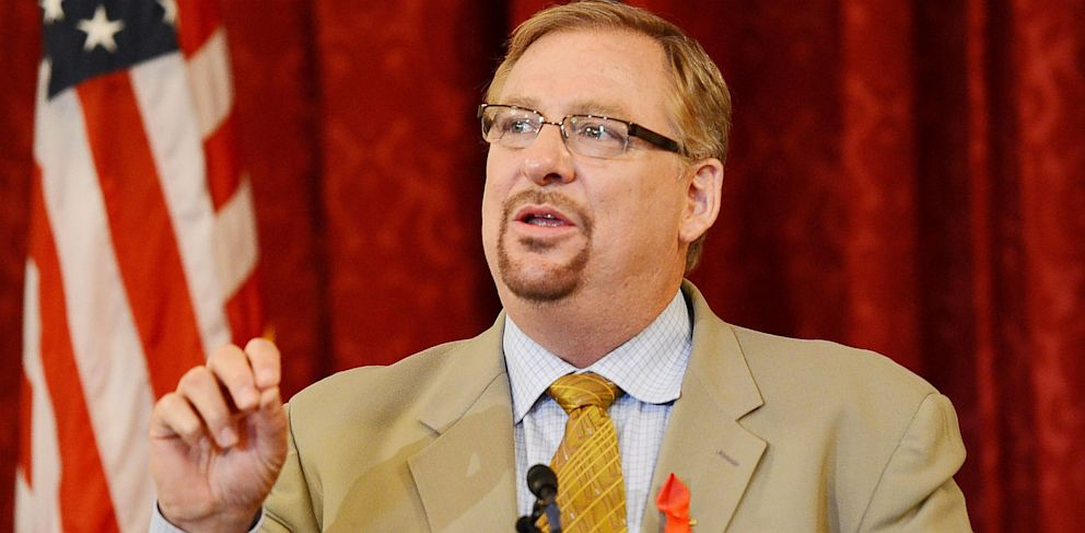 PHOTO: Pastor Rick Warren Makes First Appearance Since Sons Suicide