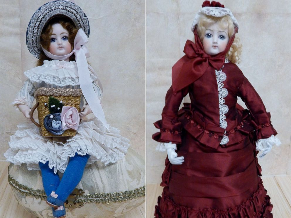 PHOTO: Becca Hisle, porcelain doll maker, suspects the life-like eyes of porcelain dolls are what makes them so spooky.