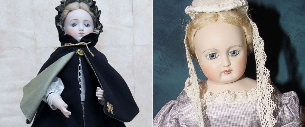 "PHOTO: Becca Hisle, porcelain doll maker, suspects the life-like eyes of porcelain dolls are what makes them so ""spooky."""