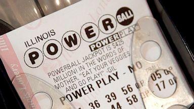 PHOTO: Powerball lottery ticket
