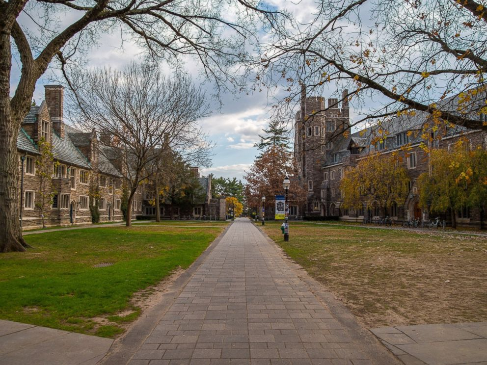 PHOTO: Princeton University campus in New Jersey is seen in this undated stock image.