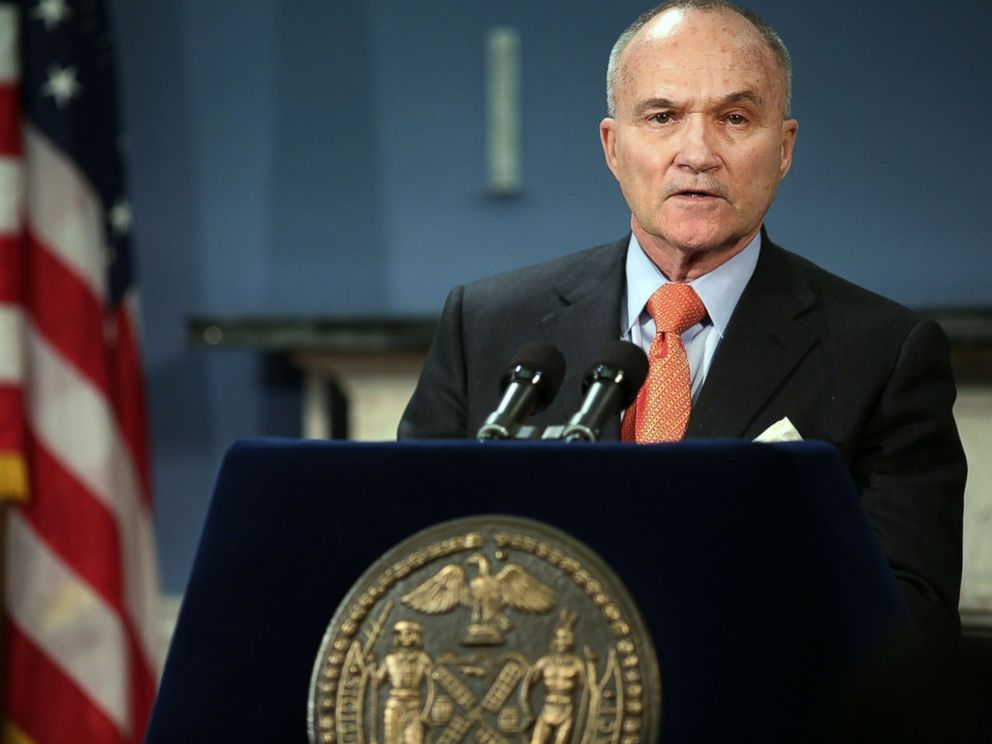 PHOTO: New York Police Commissioner Raymond Kelly speaks during a news conference in New York City, April 25, 2013.