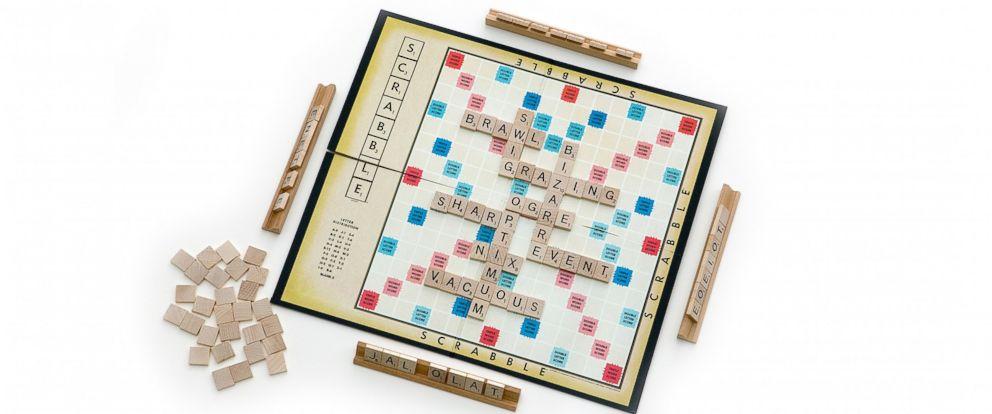 PHOTO: Hasbros Scrabble board game is seen Jan. 9, 2008.