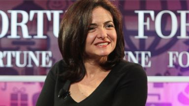 PHOTO: Sheryl Sandberg speaks onstage at the Fortune Most Powerful Women Summit, Oct. 16, 2013, in Washington.