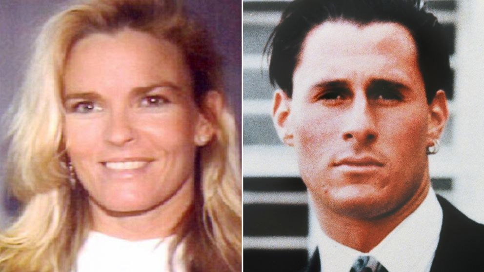 The driver's license of Nicole Brown Simpson, left, the ex-wife of former football player O.J. Simpson, who was slain along with a friend, Ronald Lyle Goldman, right, at her home June 13, 1994.