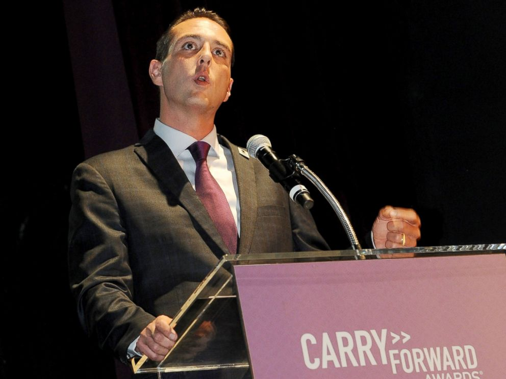 PHOTO: Steve Nardizzi attends the Wounded Warrior Project Carry Forward Awards Show at Club Nokia, Oct. 10, 2013, in Los Angeles.