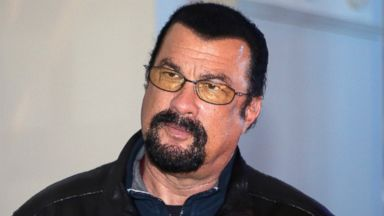 PHOTO: Actor Steven Seagal attends the Mercedes-Benz Fashion Week Russia S/S 2014 on Oct. 28, 2013 in Moscow.