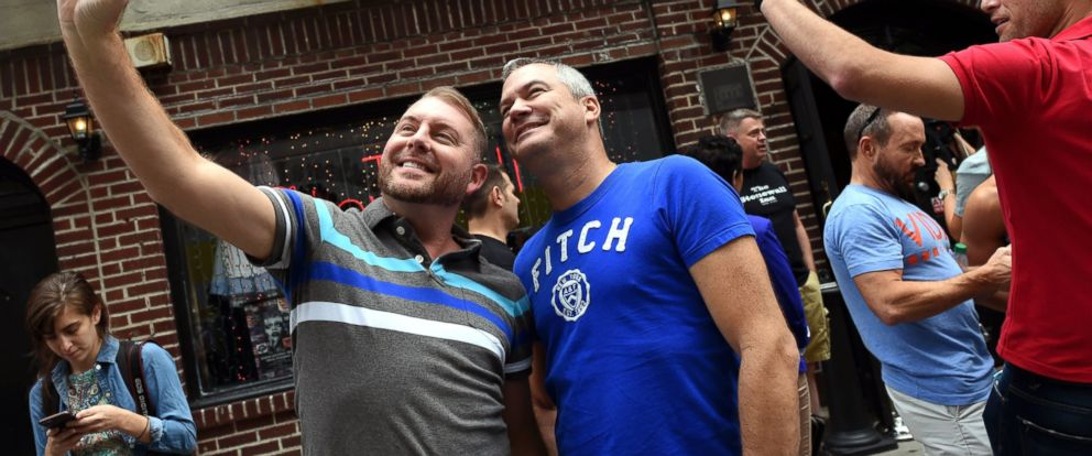 Stonewall Inn, Historic Site of Gay Rights Movement, Celebrates After  Same-Sex Marriage Ruling