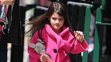PHOTO: Suri Cruise is seen in Tribeca on April 20, 2013, in New York City.