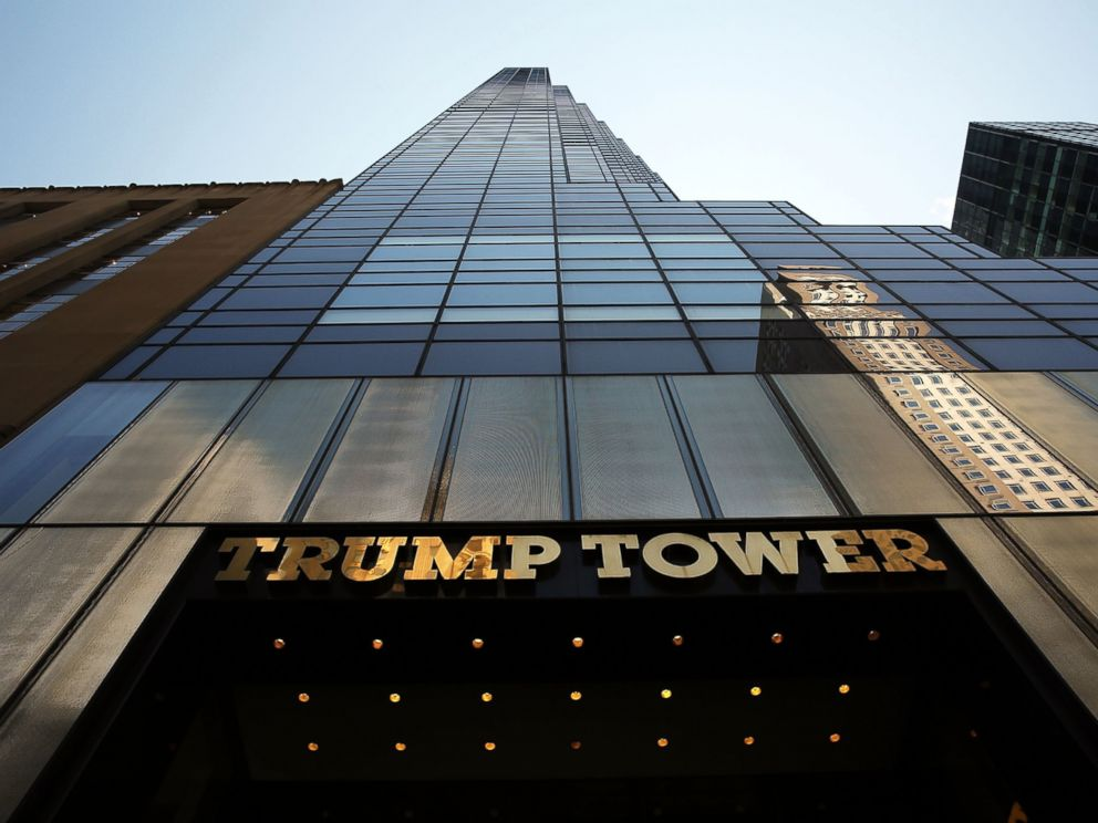 PHOTO: The Trump Tower building is viewed on 5th Avenue, July 22, 2015, in New York City.