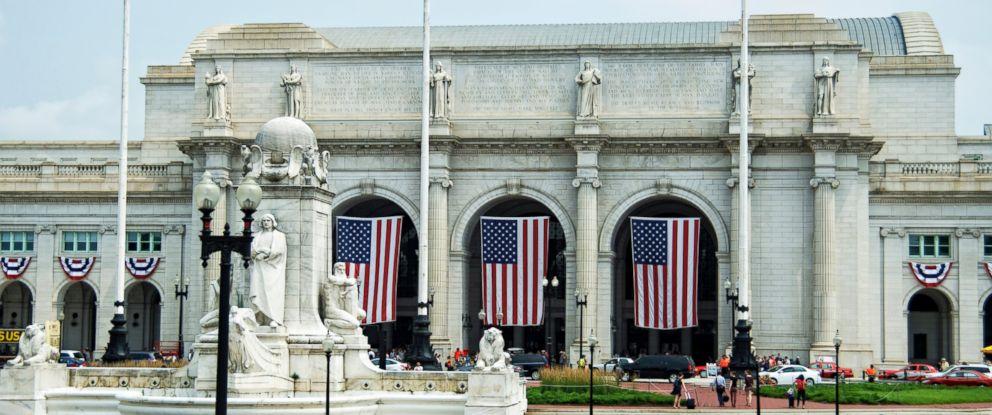 PHOTO: Entrance to Union Station in Washington.