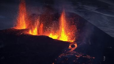 """PHOTO: Scientists believe the """"Super Volcano"""" beneath Yellowstone National Park is bigger than previously thought."""