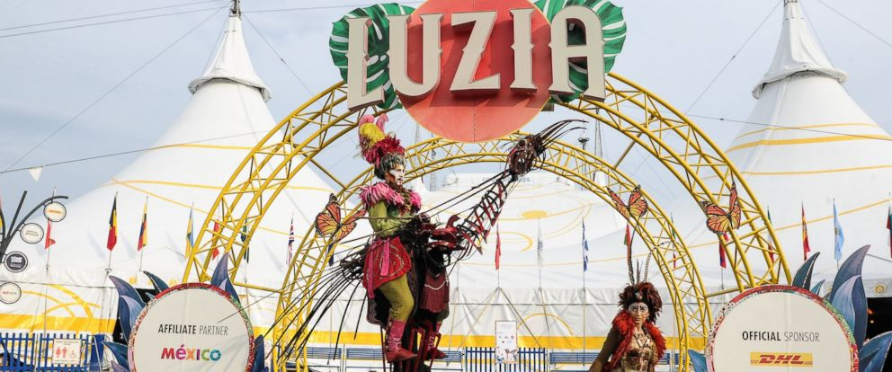 """PHOTO: A general view of the opening of Cirque Du Soleils """"Luzia"""" at Port Lands on July 28, 2016 in Toronto, Canada."""