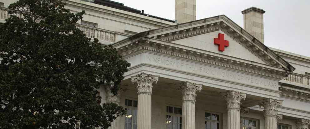 PHOTO: The American Red Cross National Headquarters is seen, Oct. 29, 2014, in Washington, DC.