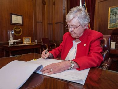 AL governor signs abortion ban into law but will likely face legal challenges
