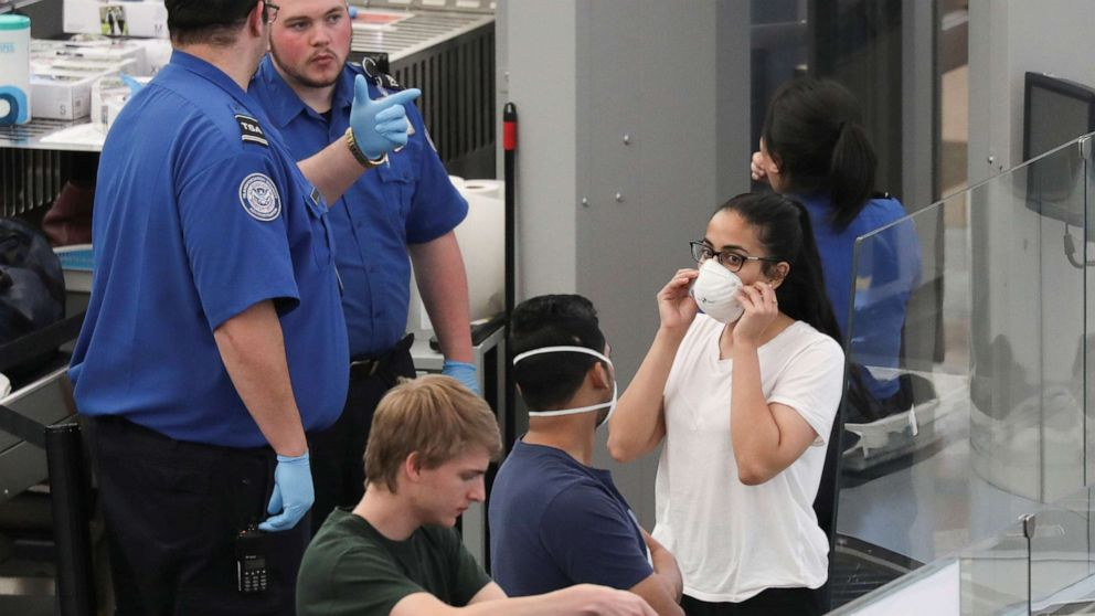 Coronavirus live updates: Passengers stuck in long lines at airports waiting for enhanced screening thumbnail