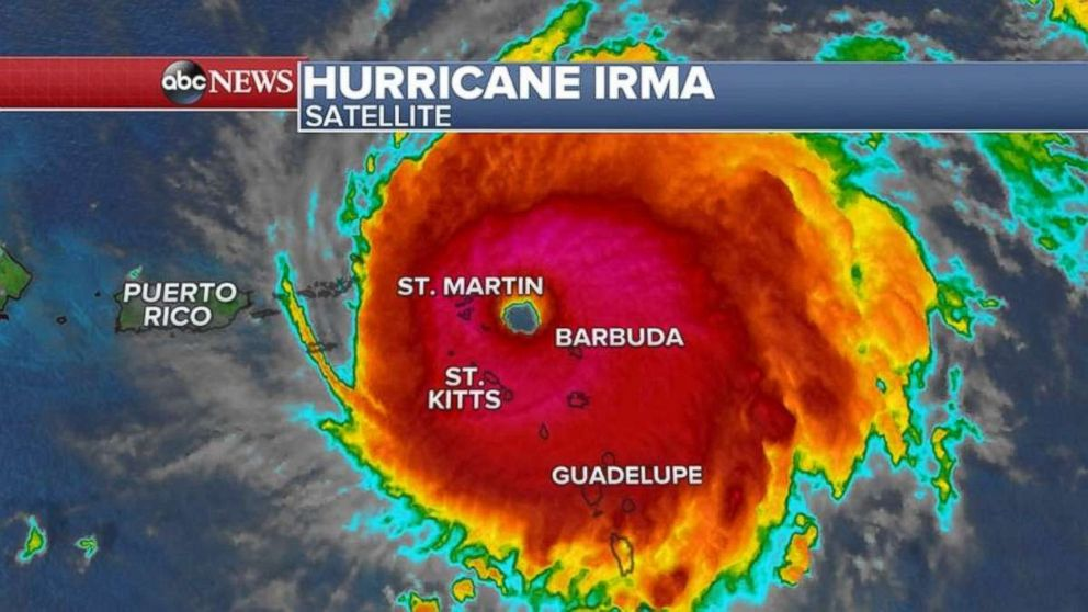 Hurricane Irma Hit Barbuda Like A Bomb Prime Minister