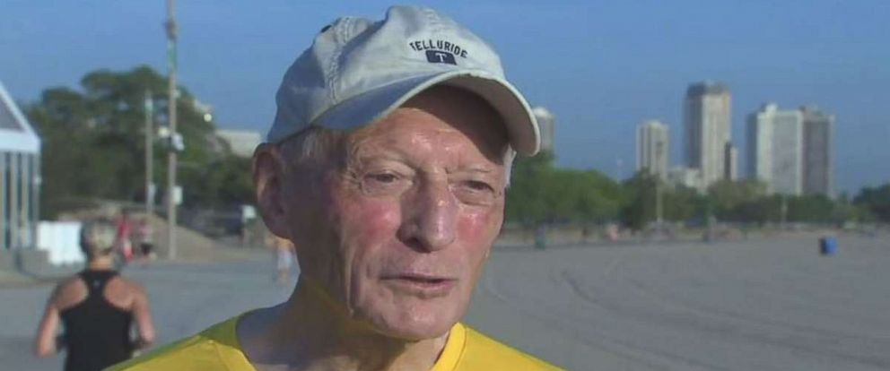 Max Downham will be running his first marathon at 81 years old this weekend in Chicago.