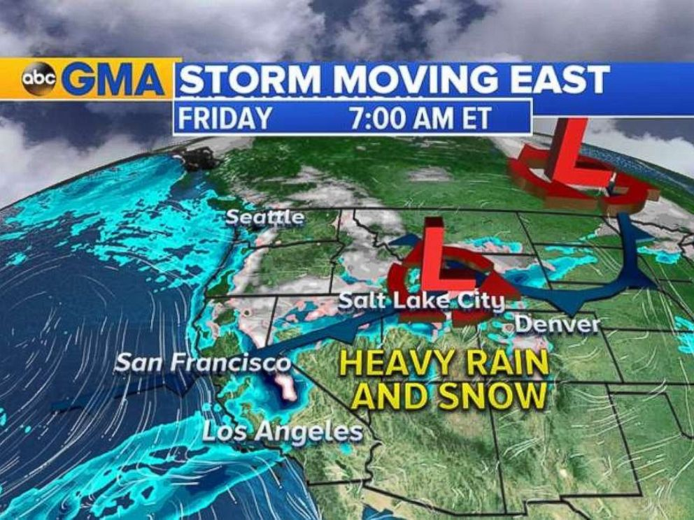 'The storm is moving through the Rockies on Friday morning, Nov. 17, 2017.' from the web at 'https://s.abcnews.com/images/US/HO_SOTRM_MOVES_EAST_20171117_3_4x3_992.jpg'