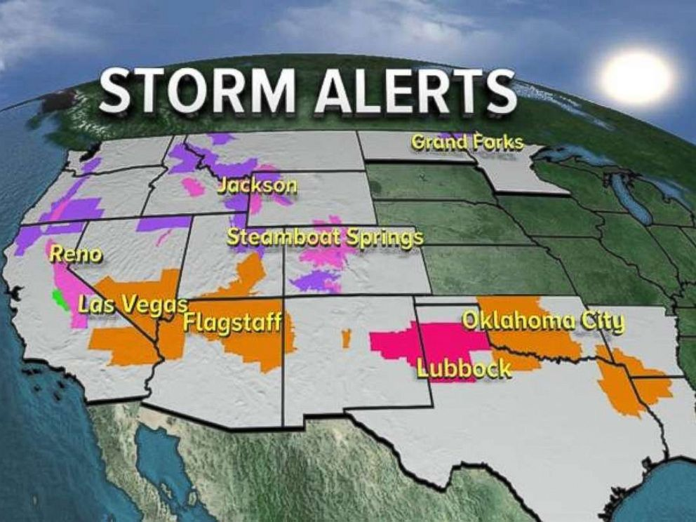 'Storm alerts are in place from California to Louisiana on Friday, Nov. 17, 2017.' from the web at 'https://s.abcnews.com/images/US/HO_STORM_ALERTS_20171117_2_4x3_992.jpg'