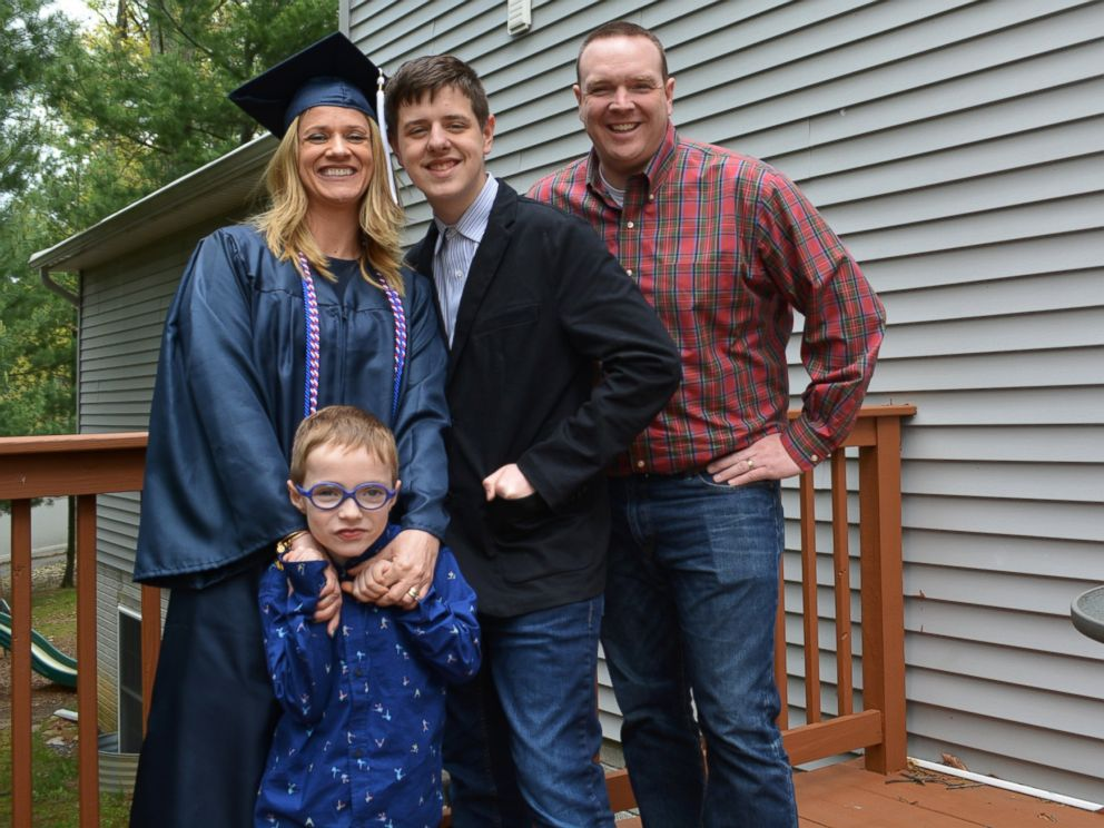 PHOTO: GMA honored Danielle Joliet, a U.S. Army veteran and mother of two, after she graduated from Pennsylvania State University this year.
