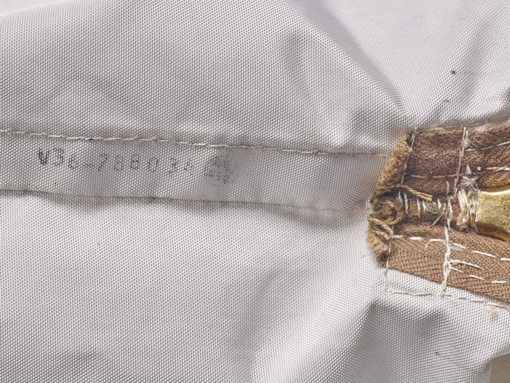 PHOTO: Serial number of the lunar sample bag from Apollo 11 that contains space dust.